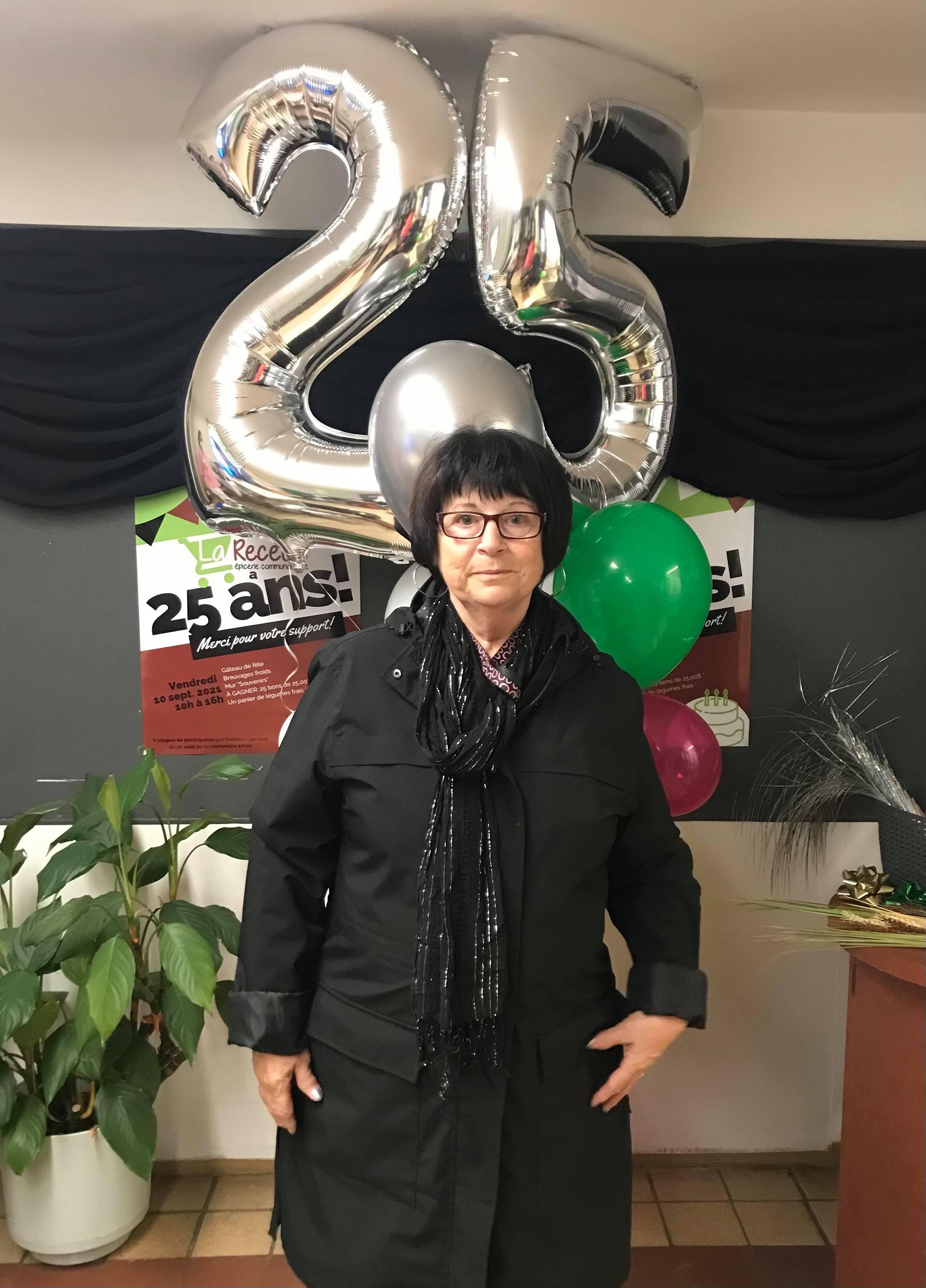 <p>Jocelyne Villeneuve, ancienne membre du Conseil d'Aministration 2012-2016.</p>